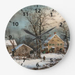 Winter in the Country, A Cold Morning Clocks
