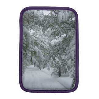 Winter in the Forest iPad Mini Sleeve
