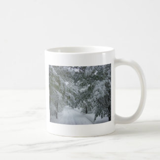 Winter in the Forest Coffee Mugs