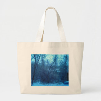 Winter In The Forest Products Large Tote Bag