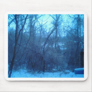 Winter In The Forest Products Mouse Pad