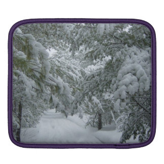 Winter in the Forest Sleeve For iPads