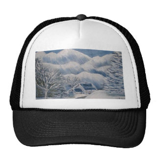 Winter in the Mountains Trucker Hat