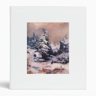 Winter in the Rockies - 1867 Binder