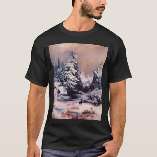 Winter in the Rockies - 1867 T-Shirt