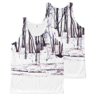 Winter in the Timber All-Over-Print Tank Top