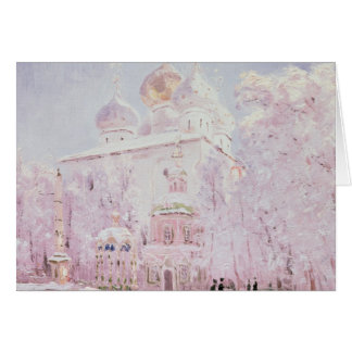 Winter in the Trinity-St. Sergius Lavra Card