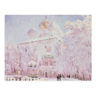 Winter in the Trinity-St. Sergius Lavra Postcard