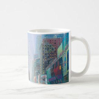 Winter in Times Square Coffee Mug