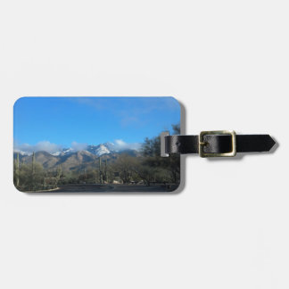 Winter in Tucson Luggage Tags