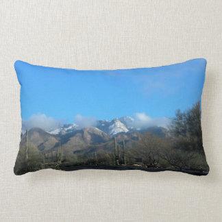 Winter in Tucson Pillow