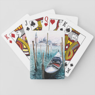 Winter in Venice Playing Cards