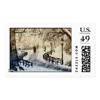 Winter in Vienna Postage Stamps