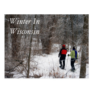 Winter In Wisconsin Postcard