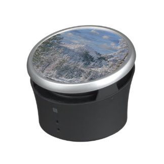 Winter in Yellowstone National Park, Wyoming Bluetooth Speaker