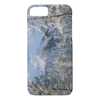 Winter in Yellowstone National Park, Wyoming iPhone 8/7 Case