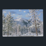 "Winter in Yellowstone National Park, Wyoming Placemat<br><div class=""desc"">Winter in Yellowstone National Park,  Wyoming USA 