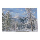 Winter in Yellowstone National Park, Wyoming Placemat<br><div class='desc'>Winter in Yellowstone National Park,  Wyoming USA | COPYRIGHT Tim Fitzharris / DanitaDelimont.com</div>
