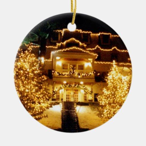 'Winter Inn'  Ornament