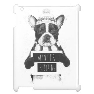 Winter is boring iPad cases