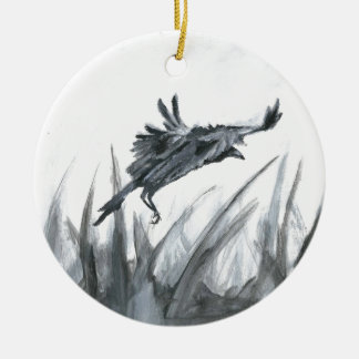 Winter is Coming.jpg Ceramic Ornament