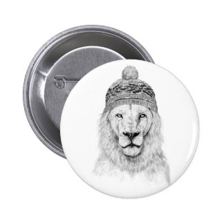 Winter is coming pinback button