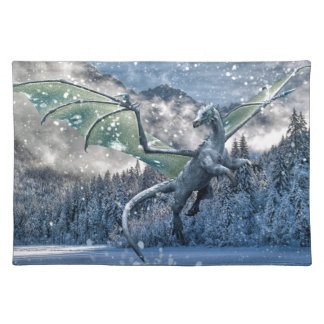 Winter Is Here Cloth Placemat