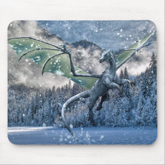 Winter Is Here Mouse Pad