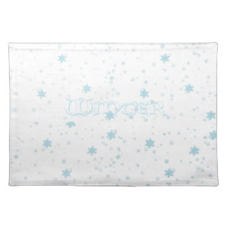 Winter is here - Place mats
