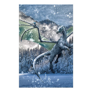 Winter Is Here Stationery