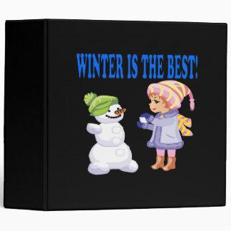 Winter Is The Best Binder