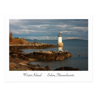 Winter Island Postcard