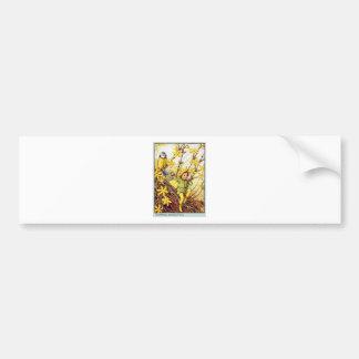 Winter Jasmine  Fairy Bumper Sticker