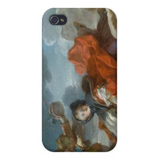 Winter - Jean Honoré Fragonard iPhone 4 Case