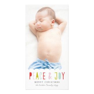 Winter Joy Holiday Photo Card