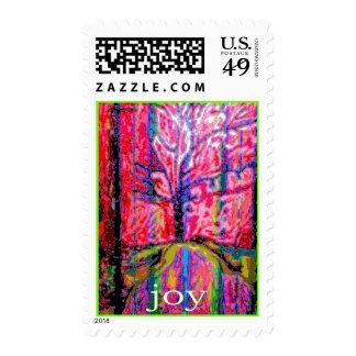 Winter Joy Stamp