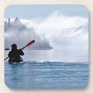 Winter Kayaking Coaster