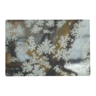 Winter Kisses Laminated Placemat