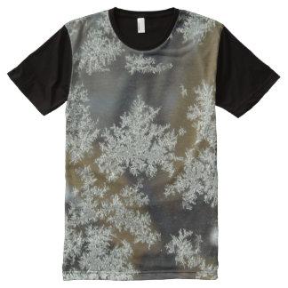 Winter Kisses Panel T-Shirt All-Over Print T-shirt