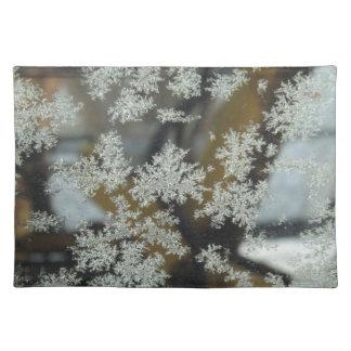 Winter Kisses Placemat Cloth Placemat