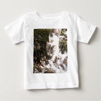 Winter Kitten Baby T-Shirt