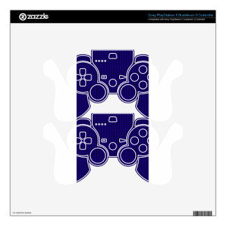 Winter knitted pattern PS3 controller decals