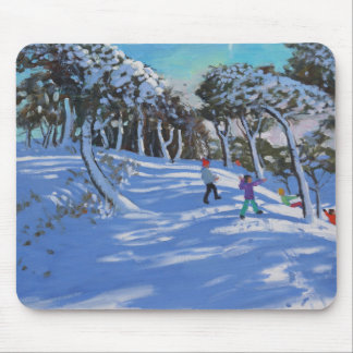 Winter Ladmanlow Derbyshire 2013 Mouse Pad