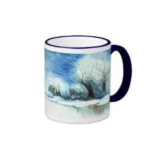Winter Lake Mug