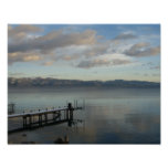 winter lake tahoe poster