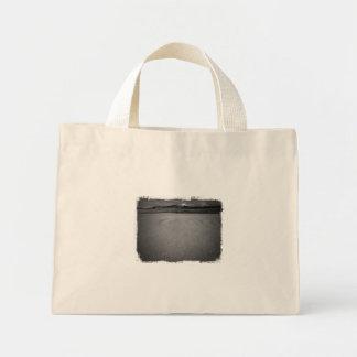Winter Lake View Mini Tote Bag