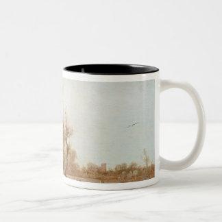 Winter Landscape, 1623 Two-Tone Coffee Mug
