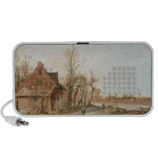 Winter Landscape, 1623 Mp3 Speaker