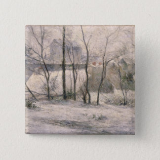 Winter Landscape, 1879 Pinback Button