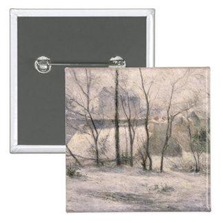 Winter Landscape, 1879 Pinback Button